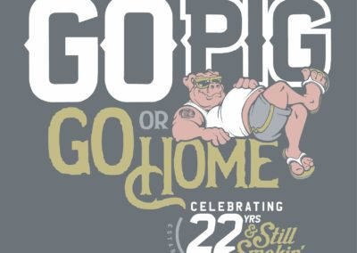 Earl's 22nd Anniversary Artwork - Go Pig or Go Home
